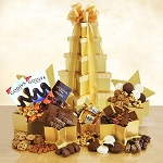 Grand Gift Star Chocolate Tower