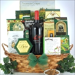 GREG NORMAN ESTATES SHIRAZ: GOLF & WINE GIFT BASKET