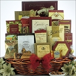 Holiday Finer Things: Gourmet Holiday Christmas Gift Basket