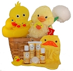 Lucky Ducky Baby Spa Gift Basket