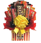 Movie Night Popcorn Candy Gift Bouquet