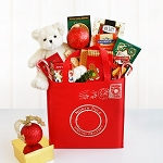 North Pole Special Delivery Holiday Tote