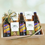 Nuts About You Root Beer Gift Basket