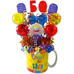 Over the Hill   30th, 40th 50th and 60th Lollipop Bouquet