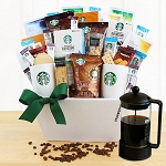 Starbucks Celebration Gift Basket