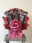 Sweetheart Candy Bouquet Gift Basket