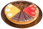 Tart Sampler - 4 Flavors - 12 Slices - 9.5