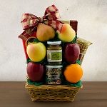Tel Aviv Fruit and Kosher Food Gift Basket