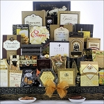 The Holiday VIP: Gourmet Holiday Christmas Gift Basket