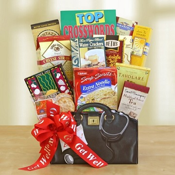 """Get Well Wishes"" Gift Basket"