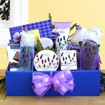 Lavender Relaxation Gift Basket