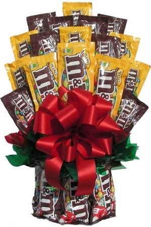 All M&M™ Candy Gift Bouquet