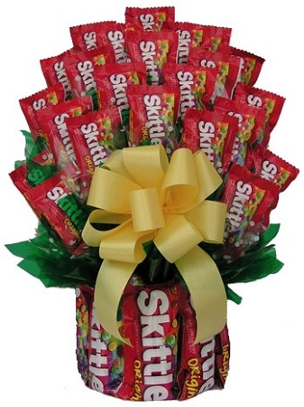 All Skittles™  Candy Gift Bouquet