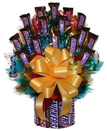 All Snickers™  Candy Gift Bouquet