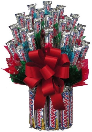All Three Musketeers™  Candy Gift Bouquet