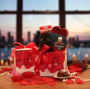 Bed of Roses Gift Set