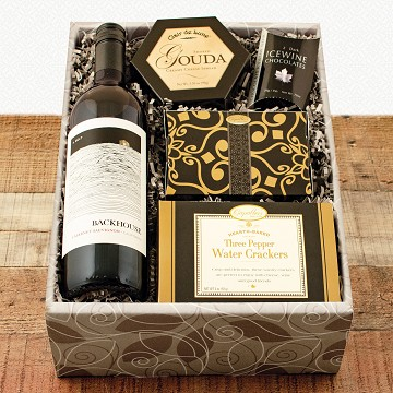 Cabernet Sauvignon Red Wine and Chocolate Gift