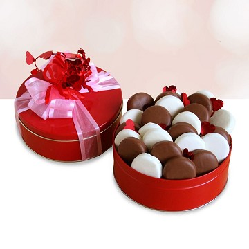 Chocolate and Delicious Valentine Gift Basket