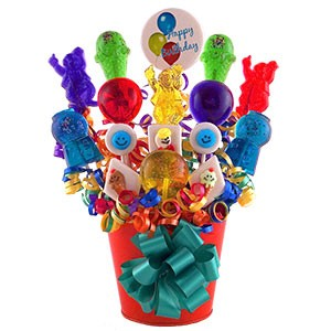 Classic Birthday Lollipop Bouquet