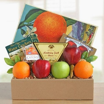 Fruit And Cheese Box-Good