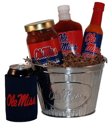 University of Mississippi Tailgate Grilling Gift Basket