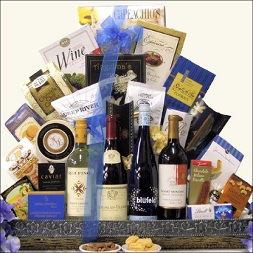 WINES OF THE WORLD CELLAR COLLECTION: WINE GIFT BASKET