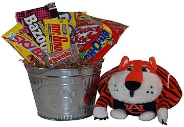 Auburn University Snack Bucket Gift Basket