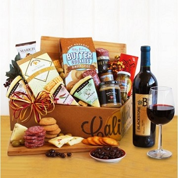 California Vineyard Gourmet Crate