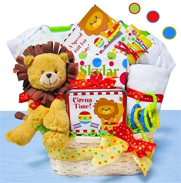 Day At The Circus Baby Gift Basket
