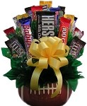 Football Candy Gift Bouquet