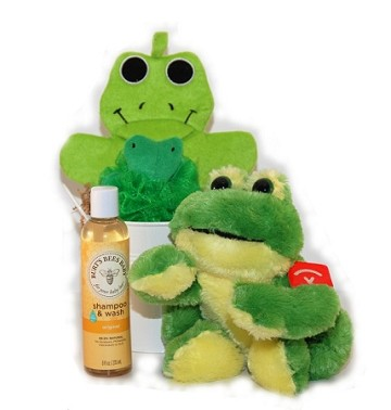 Bath Time with Froggy Jr. Baby Spa Gift Basket