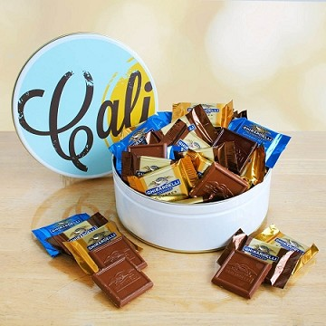 Ghirardelli Chocolate Gift Basket in a Tin
