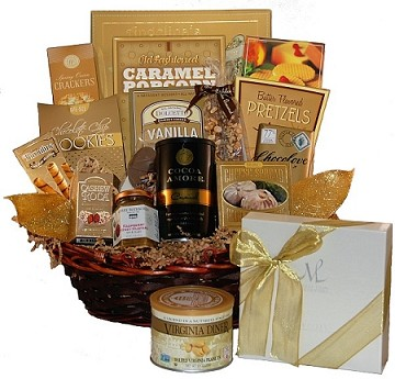 Golden Gourmet TM Gift Basket