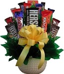 Golf Lovers Candy Gift Bouquet