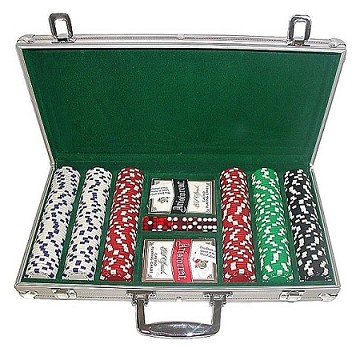 Hold Em Poker Chips Set