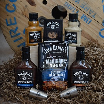 The Jack Daniels Sampler Gift Basket