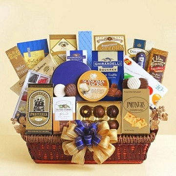 Office Delights Gift Basket