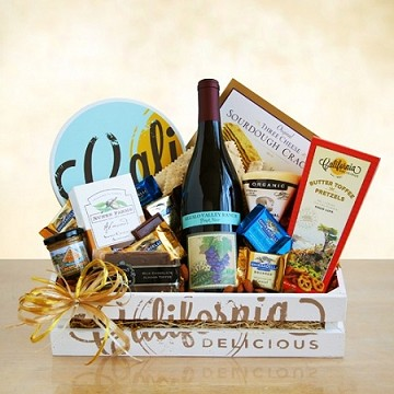 Signature California Cabernet Wine Country Gift Crate
