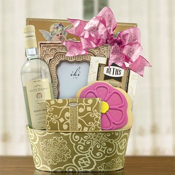 "White Wine ""Someone Special"" Gift Basket"