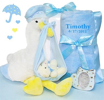 Stork Delivery Gift Set-Boy