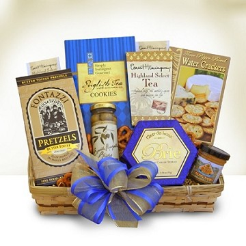 """Thank You"" Snacker Gift Basket"