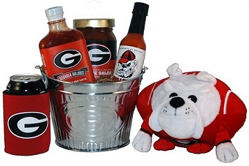 University of Georgia Tailgate Grilling Gift Basket