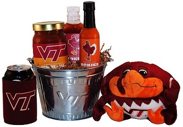 Virginia Tech Tailgate Grilling Gift Basket