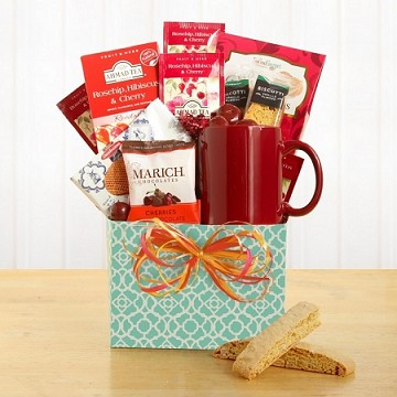 Warm and Hearty Tea Lover Gift Box